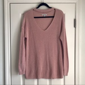 American Eagle Outfitters Oversized Cutout Sweater